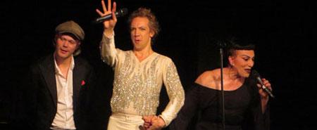 Joey Arias und Sven Ratzke live im BKA Theater