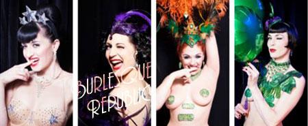Burlesque Republic - A Photo Book Crowdfunding