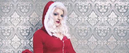 Frohe Pin-Up Weihnachten inspiriert von Gil Elvgren