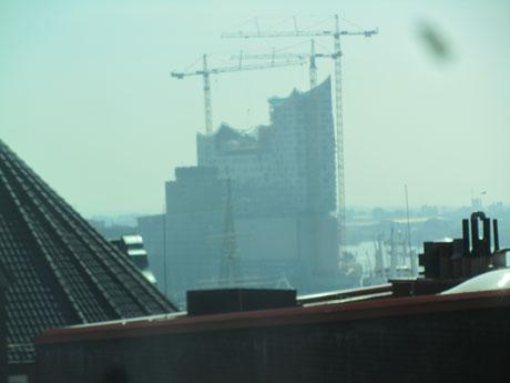 Hamburgs Flughafen grad noch im Blick ;)