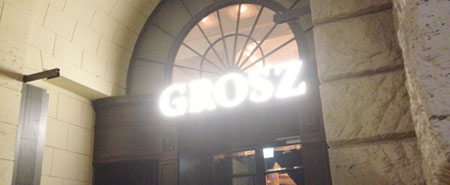 West-Berlins neue Garde: Grosz Restaurant Berlin