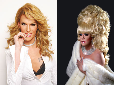 Barbie Breakout vs. Lady Bunny