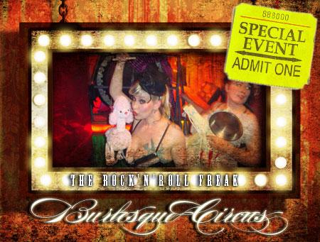 RocknRoll Burlesque Freak Circus Show Bilder Fotos