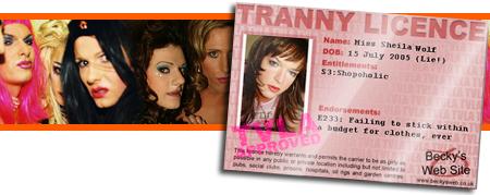 Tranny Licence