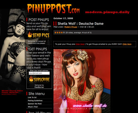 Screen Pinuppost.com