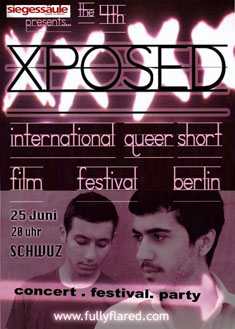 4. XPOSED International Queer Short Film Festival Berlin