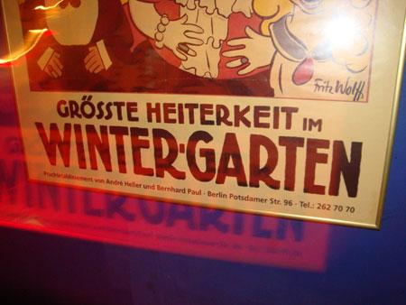 Wintergarten Variete Boheme Sauvage
