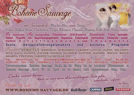Boheme Sauvage