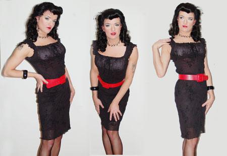 Dita von Teese Outfit