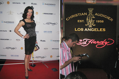 Ed Hardy / Christian Audigier Fashion Party im Felix
