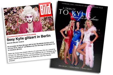 Kylie Berlin Velodrom Bilder