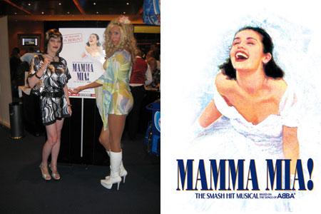Mamma Mia! - was für eine Musical Deko.