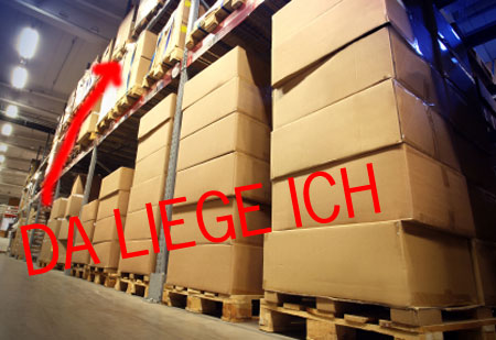 DHL Paketlager