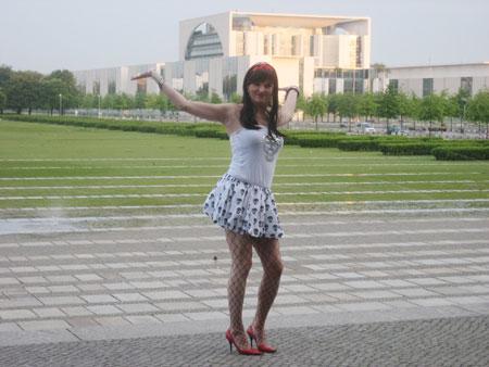 Sheila am Reichstag