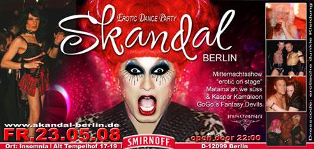 skandal Berlin Insomnia