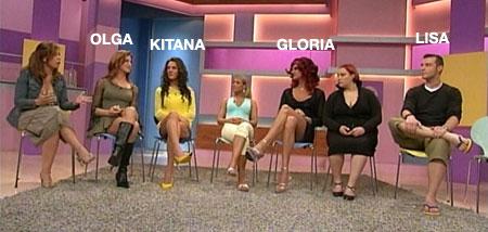 Vera am Mittag mit Olga und Kitana