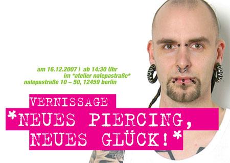 Neues Piercing, neues Glück!